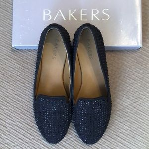 Bakers studded flats